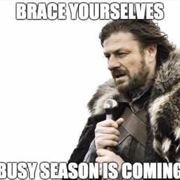 busy season