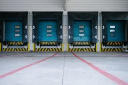 logistics truck bay