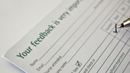 feedback increases retention rates