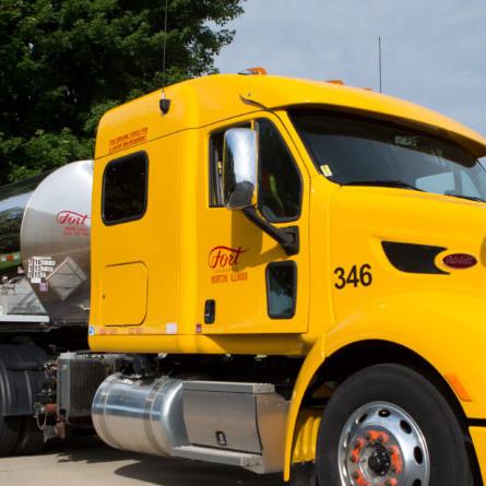 fort transfer truck
